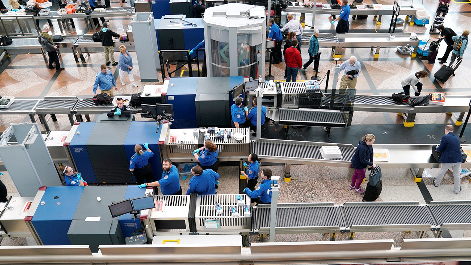 Transportation Security Administration officials had a record day on May 3.