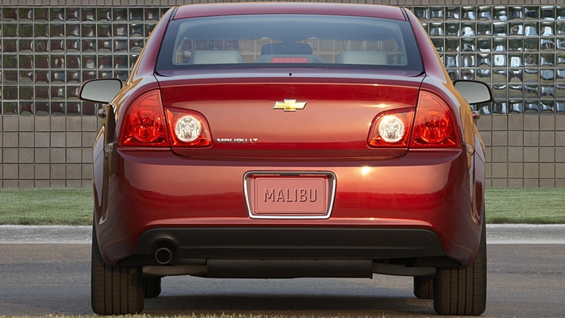 Bad Brake Lights Could Force Recall Of Over One Million Gm Cars 2011 Chevy Malibu Lt Chevrolet X11ch Ma008 06 22 2010 United States