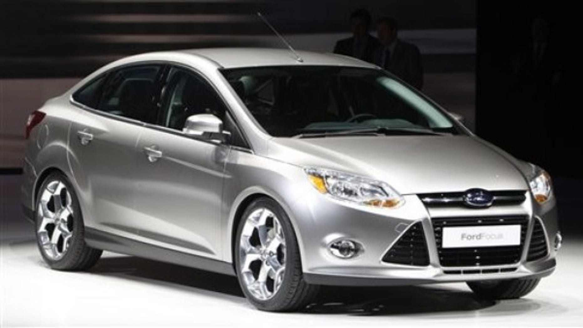 The next generation ford focus 4 door is introduced at the north american international auto