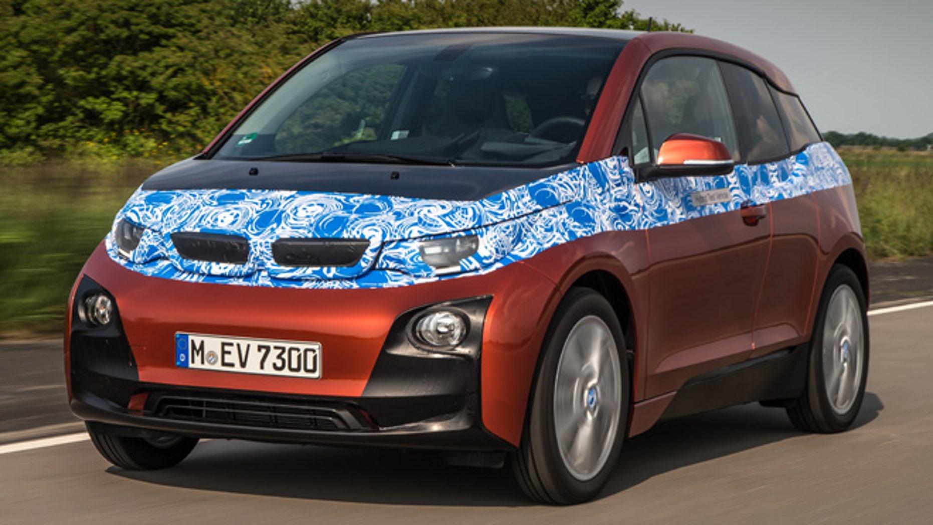 Bmw I3 Electric Car Price Announced Fox News