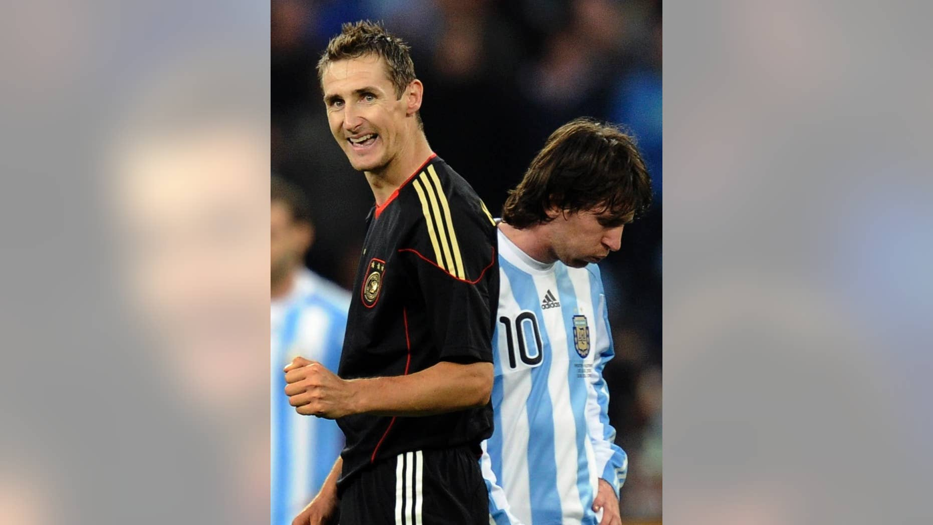 9ce6a35d7 World Cup final comes down to Messi s Argentina vs Germany s team ...
