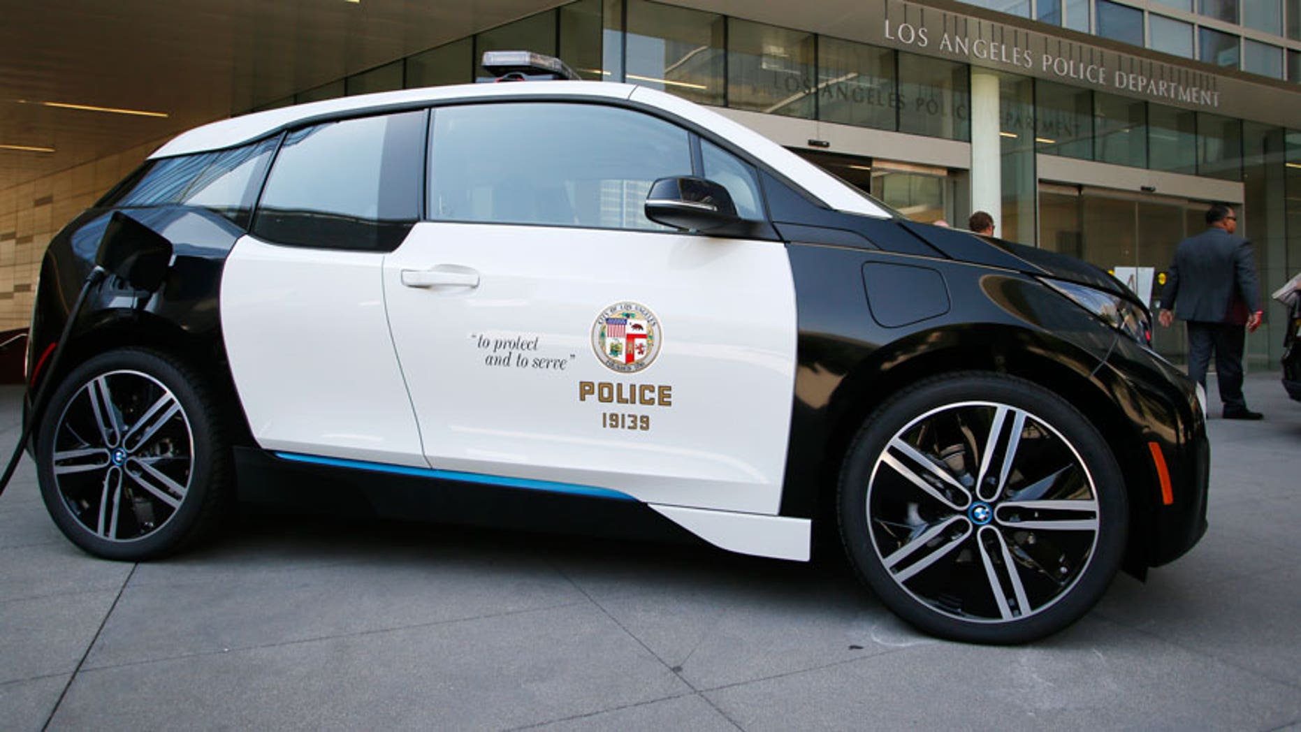 Lapd Elisting 100 Bmw I3 Electric Cars Fox News