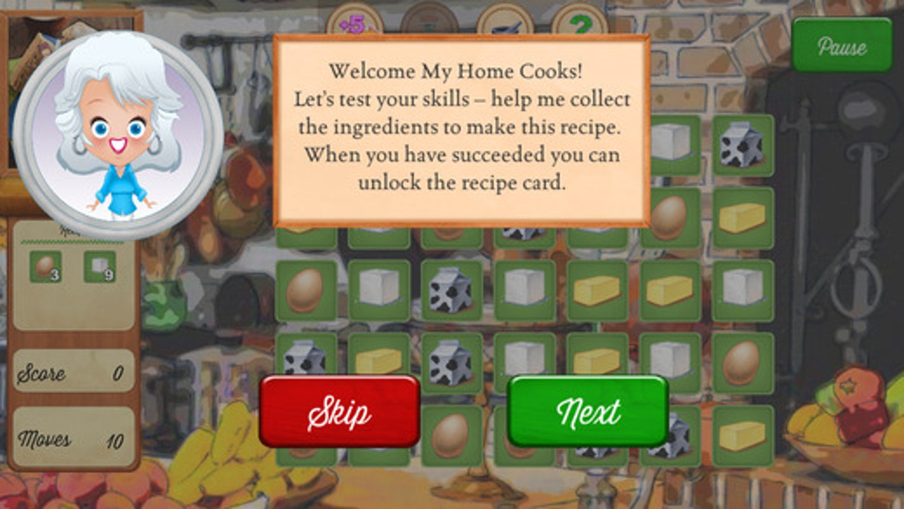 mobile cooking games
