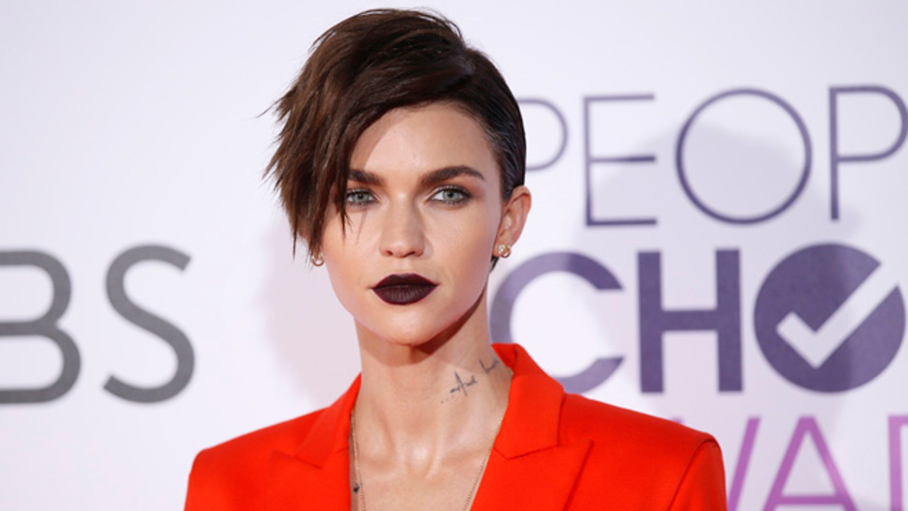 Ruby Rose is named the most dangerous celebrity by Cybersecurity firm McAfee on Tuesday.
