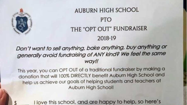 Alabama school\'s hilarious \'opt out\' fundraising letter goes viral
