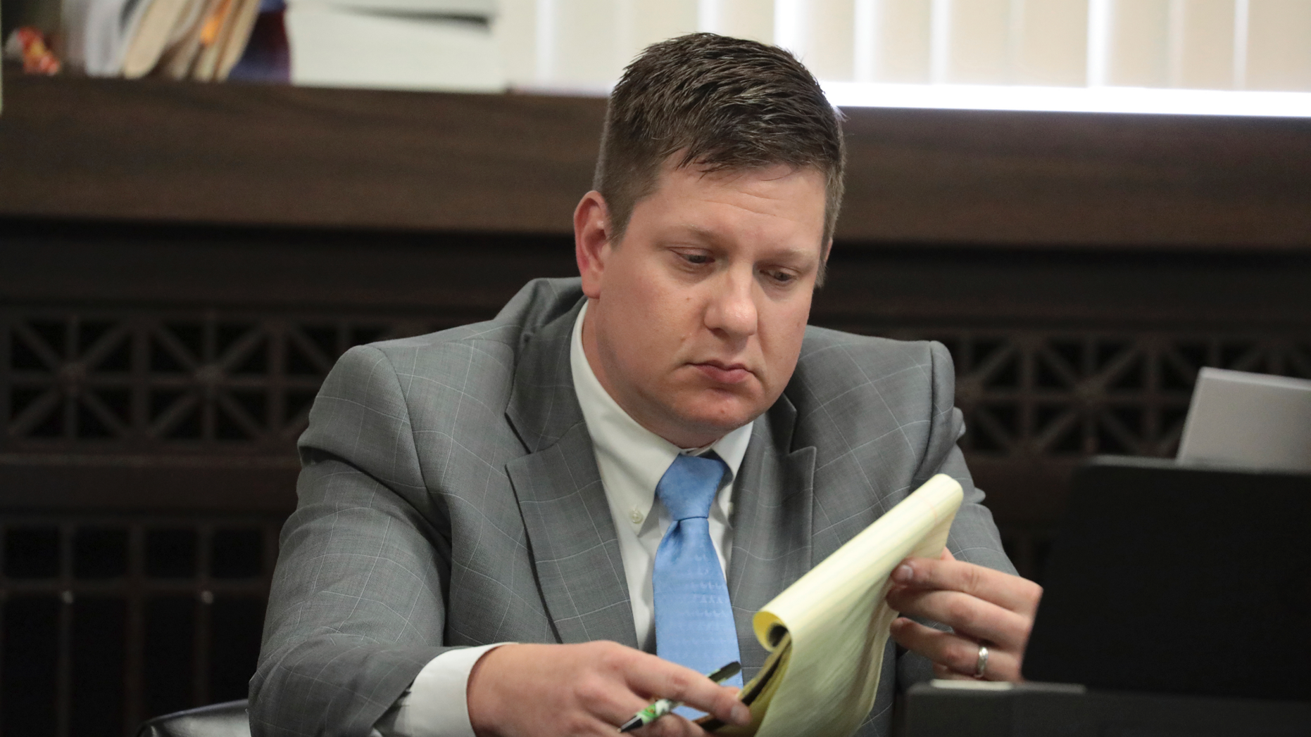 Van Dyke tearfully testifies about shooting but grapples with inconsistencies