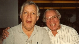 My husband lost his best friend today: Hal Meyers, the salt of the earth.