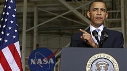 Soon, our claims for space leadership will be believed only by President Obama's speechwriters.