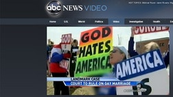 Apparently, ABC can't tell the difference between opponents of gay marriage and hateful, anti-American bigots.