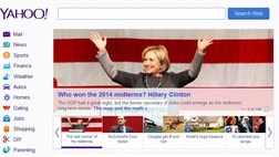 "One might be able to excuse Democratic spin before the election returns came in. But former Newsweek reporter Andrew Romano offered a real beaut the morning after at Yahoo News, titled ""How Hillary Clinton won the  midterms."""