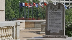 When the Oklahoma Supreme Court demanded the removal of a ten foot monument to the Ten Commandments from the grounds of the State Capitol, it not only marginalized America's Judeo-Christian legacy, it trivialized the meaning of history itself.