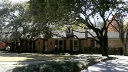 The Bush family announced Thursday they've found a home in an upscale Dallas neighborhood.