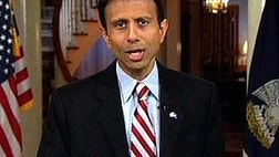Network host or producer caught muttering Oh God on the air as Louisiana Gov. Bobby Jindal walked toward the camera to deliver the GOP response to Obama's address.