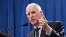Gov. Jerry Brown's newly unveiled plan for a sweeping overhaul to California's pension system seeks rollbacks that are deeper than what the Democratic governor proposed in the spring and risks the support from unions that he rode back into the state's top job last year.