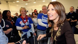 Minnesota Rep. Michele Bachmann isn't backing down from her controversial stance on waterboarding despite being called out by President Obama over the weekend as wrong.