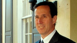 Former Senator Rick Santorum (R) says if he is elected, he will take judicial appointments very seriously and he'll have a litmus test that they should follow the Constitution.