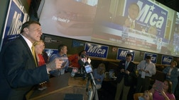 House Transportation Committee Chairman John Mica, R-FL, trounced freshman Rep. Sandy Adams, R-FL, in the Florida Republican primary Tuesday.