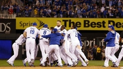 A dramatic season. A lump in the throat. Pure poetry for one Kansas City Royals fan.