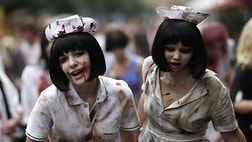 When zombies come a-stalking, should you head for the hills or the mall? Research suggests one may save your delicious brain