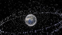 Outer space has become Earth's largest junkyard.