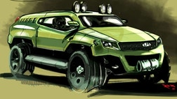 The Defense Advanced Research Projects Agency (DARPA) has been collecting dozens of ideas for a design on a new rescue vehicle via a social media competition.
