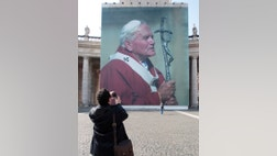 """Pope John Paul II's beatification on Sunday may draw as many as a million people to Rome. Well over that number came six years ago when John Paul died, many of them clamoring """"Santo Subito!"""" or make him a saint immediately."""
