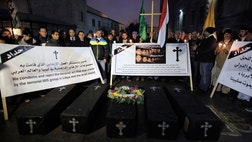 Relatives of the Coptic Christians beheaded last month by jihadists in Libya – their deaths immortalized in a gory video set against the backdrop of a Mediterranean beach – are facing new extremist-Muslim violence as they seek to build a church to honor their murdered loved ones.