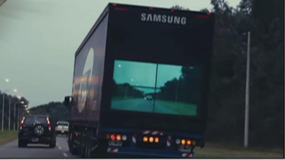 Samsung's latest technology to improve safety on the roads