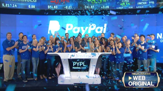 PayPal Up 5% in Public Debut