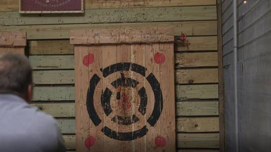 Stumpy's Hatchet House: How to throw a hatchet