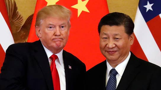Trump's China comments lifts Dow as chips hurt tech