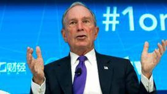 Bloomberg makes big donation to alma mater