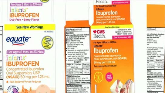 Major recall of infant ibuprofen sold at Walmart, CVS, Family Dollar