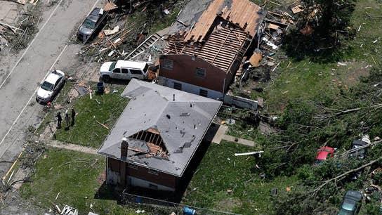 Severe tornadoes hit Missouri capital