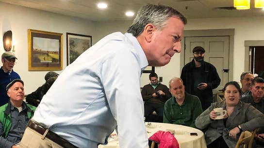 De Blasio candidacy has been flat out laughed out of court: Varney
