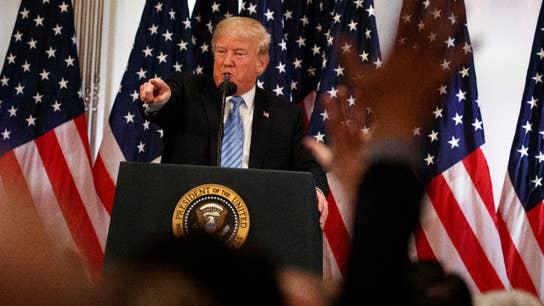 Trump touts the benefits of tariffs