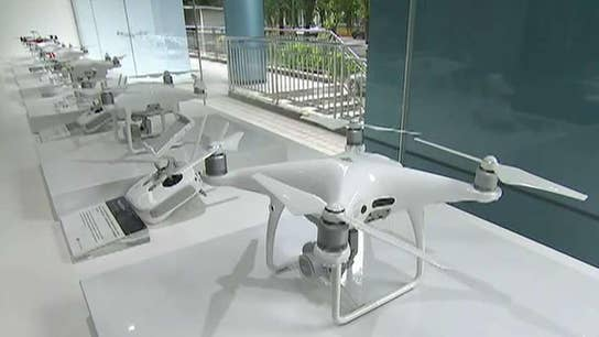 FOX Business' Connell McShane goes inside drone company DJI