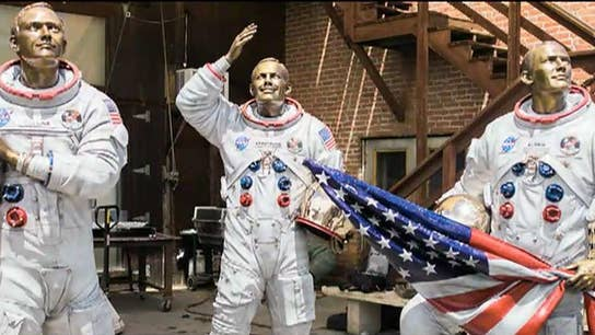 Kennedy Space Center to feature statues of the Apollo 11 crew