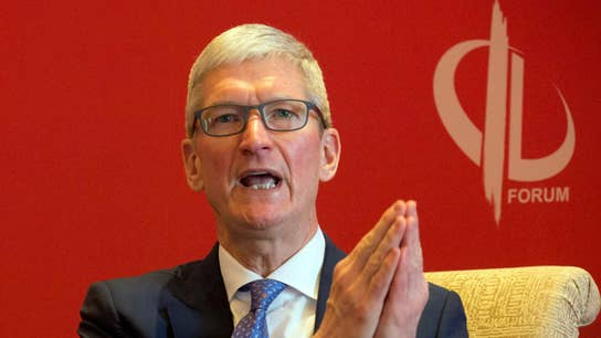 Apple CEO Tim Cook disputes 'absurd' report on Jony Ive's exit from company