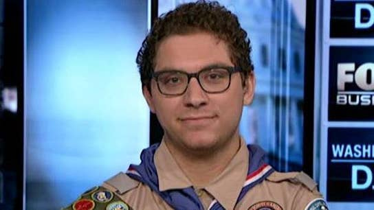 How this Eagle Scout earned 138 badges
