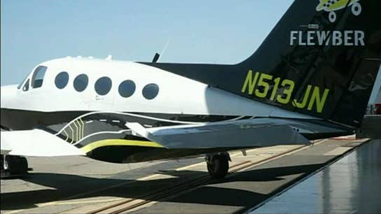 Private plane bookings as easy as hailing an Uber?