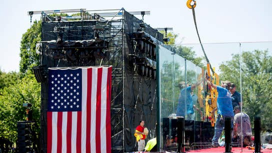 White House preps for July 4th parade