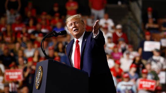 Trump touts economic success during rally in New Hampshire