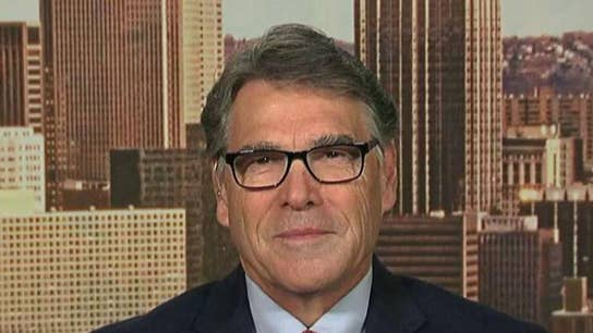 Rick Perry: Technology saved oil and the economy