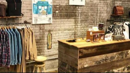 Pop-up marketplace promoting made in America