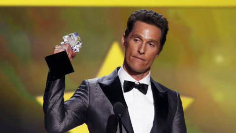 Best actor: Matthew McConaughey?
