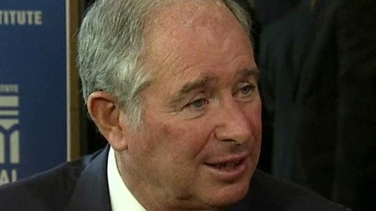 Blackstone Group CEO: We're buying as much as selling