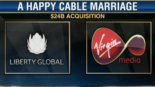 Liberty Global CEO on Virgin Media Acquisition