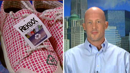 Small Business Spotlight: REKIXX - 100% Recyclable shoe