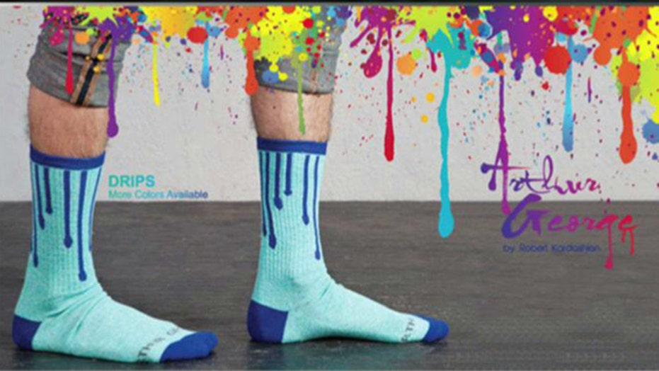 Robert Kardashian Launches Line of Socks
